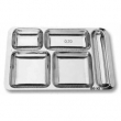 Tabldot Yemek Tabağı Paslanmaz Çelik DESA787